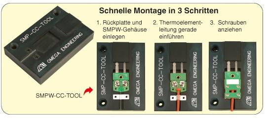 Schnelle Montage mit dem Werkzeug SMPW-CC-TOOL