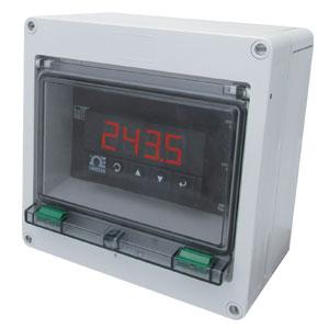 Anzeiger/Regler für Temperatur, Prozesssignale und DMS zum Tafeleinbau oder zur Wandmontage | CNi8C-EN