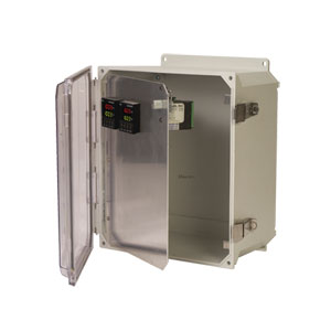 Pre-Cut Front Panels for Plastic Enclosures | OM-HFPU Series Front Panels for Meters & Controllers