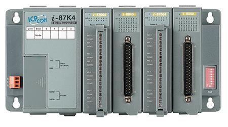 Modulares E/A-System für RS-485, Ethernet, CANbus, PROFIBUS oder USB | I-8000