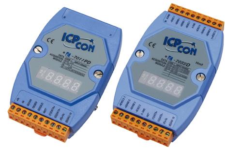 I-7000, M-7000 ICPCON Isolierte E/A-Module mit RS-485-Schnittstelle | I-7000, M-7000