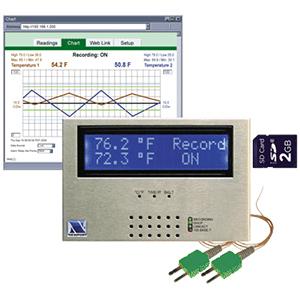 iSD-TC Raummonitor zur Temperaturüberwachung über das Internet | iSD-TC