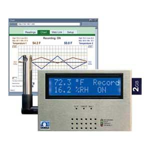 Raummonitor für Temperatur und Feuchte und Taupunkt | iSD-TH