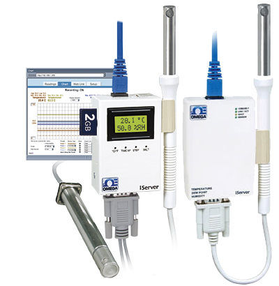 iTHX-W3, iTHX-SD Temperatur/Feuchte-Transmitter mit integriertem Webserver | iTHX-W3, iTHX-SD