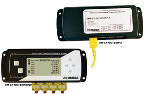 8 Channel Thermocouple Data logger   OM-CP-OCTTEMP-A