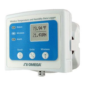 Wireless-Datenlogger für Temperatur und Feuchte mit Display | OM-CP-RFRHTEMP2000A