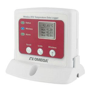 Wireless-Datenlogger mit Display für Temperaturmessung mit Widerstandsfühler | OM-CP-RFRTDTEMP2000A