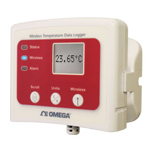 Wireless-Datenlogger für Temperatur mit Display | OM-CP-RFTEMP2000A