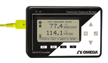 Thermocouple Temperature Data Logger with LCD Display | OM-CP-TCTEMP2000