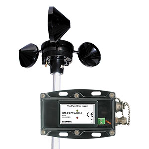 Cup Anemometer Wind Speed Data Logger - Order online   OM-CP-WIND101A-KIT