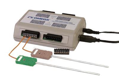 8/16-Kanal-USB-Messsystem für Thermoelemente/Spannun | OM-DAQ-USB-2401