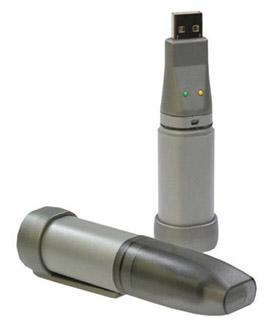 Datenlogger im USB-Stick-Format für Temperatur, relative Luftfeuchte, Taupunkt, Strom, Spannung | OM-EL-USB Serie