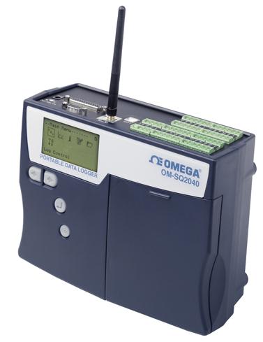 OM-SQ2040-WiFi Präzisions-Datenlogger mit Wi-Fi-Netzwerkschnittstelle | OM-SQ2040-WiFi