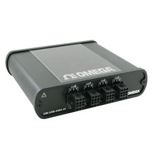 4-Kanal-USB-Messsystem mit galvanisch getrennten, analogen Universaleingängen | OM-USB-2404-UI