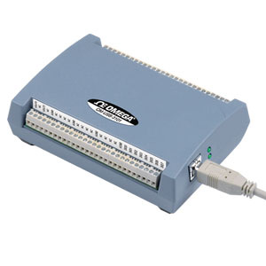 4, 8 oder 16-Kanal-USB-Messsystem mit analogem Spannungsausgang   OM-USB-3100