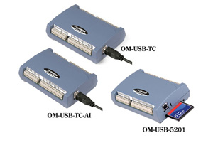 Plug-and-Play USB-Messsystem mit Thermoelementeingang | OM-USB-TC