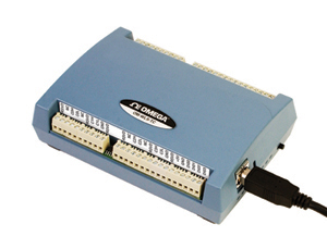 Thermoelement-Messsystem mit Wireless und USB   OM-WLS-TC