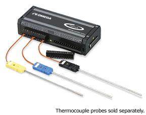USB-Messmodule für Thermoelemente- und Prozessignale | OMB-DAQ-54, OMB-DAQ-55, OMB-DAQ-56