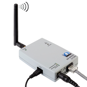 Wireless-Datenempfänger - Ethernet- oder Internet-Anschluss   ZW-REC