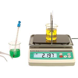 Die Messgeräte der DCB80-Serie für relative Dichte und Konzentration nutzen das Auftriebsverfahren des Archimedischen Prinzips. | DCB81, DCB83