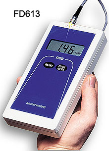 Portable Doppler Ultrasonic Flow meters | FD613 and FD614