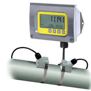 Rohrmontierbare Ultraschalldurchflussmesser ohne Medienkontakt | FDT-40 Series