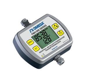 Luftgeschwindigkeitsmesser/Temperaturmessumformer/Anzeige für industrielle Anwendungen | FMA1000