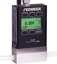 Massen- und Volumendurchflussmesser für Gase mit Anzeige von Durchfluss, Druck und Temperatur. 20+ Gase auswählbar. | FMA-1600