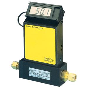 Gas-Massedurchflussmesser für reine Gase mit integrierter Anzeige als Option | FMA1700A, FMA1800A
