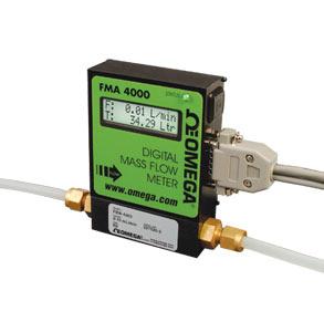 FMA4100, FMA 4300 Programmierbare Massendurchflussmesser und Summierer, Für reine Gase | FMA-4100, FMA-4300