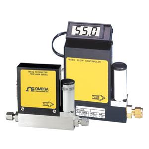 Gas-Massendurchflussregler für reine Gase mit oder ohne integrierter Anzeige | FMA5400A_5500A