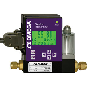 Anzeige-, Steuerungs-, Summierer- und Alarmfunktionen für Durchflussmesser und Regler mit analoger E/A-Schnittstelle | FMI-100 Series
