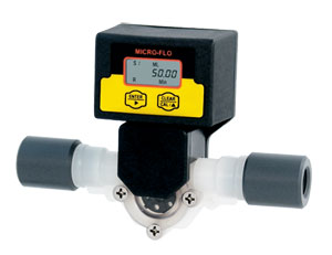 Flügelrad-Durchflussmesser für Kleinmengen von 30 ml/min bis 7000 ml/min | FTB300