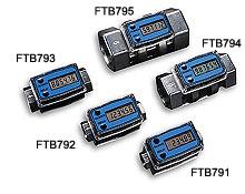 Turbinen-Durchflussmesser mit integrierter digitaler Anzeige | FTB790