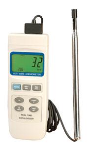 Heißdraht-Anemometer mit Echtzeit-Datenlogger | HHF2005, HHF2005HW