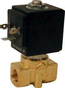 2-Wege-Magnetventil SVM3300, stromlos NC oder NO | SVM3300