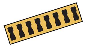 Zubehör für Dehnungsmessstreifen: Widerstandsdraht, aufklebbare Lötstützpunkte (BTP), Brückenwiderstände | BTP-1, RES-120, SGB-36