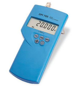Tragbare digitale Druckanzeige, Interne oder externe Sensoren zur Messung von Differenz- oder Absolutdruck | DPI705