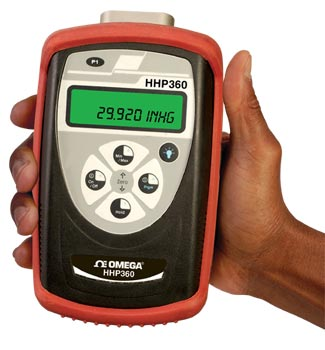 HHP360 Digitalbarometer/Präzisionsmanometer für Absolutdruck | HHP-360