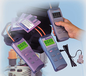 handheld manometer with rs232 and optional software. Black Bedroom Furniture Sets. Home Design Ideas