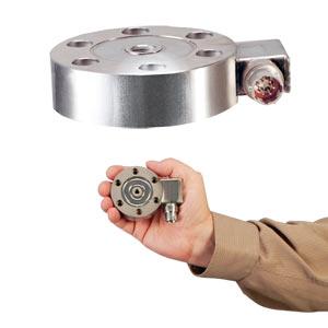 Lastzellen für Zug- und Druckbelastung, Flachbauweise, auf Zug kalibriert ±25 N bis ±100 kNa | LCMHD