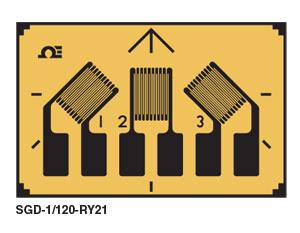 SGD-RY21 Rechteckige Rosette mit 3 Elementen - kompakte, planare Geometrie | SGD-RY21