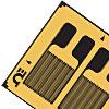SGD-DY Präzisions-DMS mit zwei Messgittern für Biegedehnung.