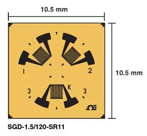 SGD-SR Restspannungs-DMS | SGD-SR