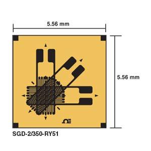SGD-RY51 - DMS-Rosetten mit 3 Elementen - 0°/45°/90° | SGD-RY51