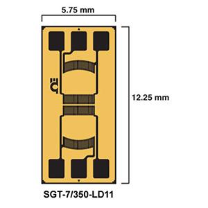 SGT-LD11 DMS in Messwertaufnehmer-Qualität - Lineare Membram-DMS als Voll- und Halbbrücken | SGT-LD11