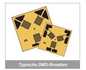 Typische DMS-Rosetten