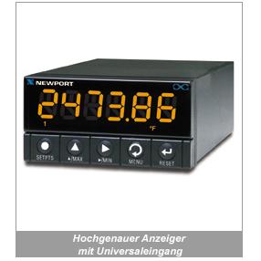 INF-B Hochgenauer Anzeiger mit Universaleingang