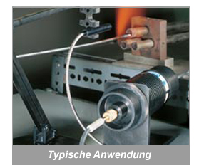 Temperaturmessung mit LWL-Optik