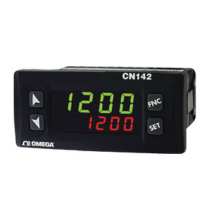 Temperatur/Prozessregler CN142 mit geringer Einbautiefe | CN142